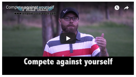 Compete against yourself